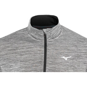 Mizuno Alpha Half-Zip Long Sleeve Men black